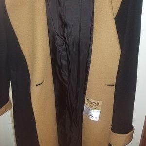 Pierrette B. Jackets & Coats - 100% cashmere long trench coat